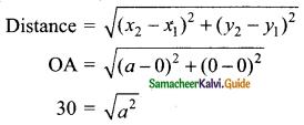 Samacheer Kalvi 9th Maths Guide Chapter 5 Coordinate Geometry Ex 5.2 20