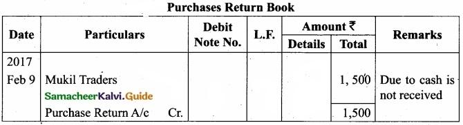 Tamil Nadu 11th Accountancy Model Question Paper 1 English Medium img 19