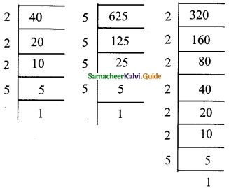 Samacheer Kalvi 9th Maths Guide Chapter 2 Real Numbers Ex 2.6 2