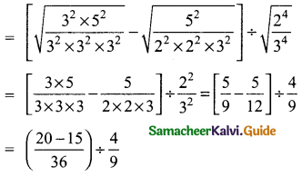 Samacheer Kalvi 9th Maths Guide Chapter 2 Real Numbers Ex 2.6 4