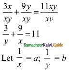 Samacheer Kalvi 9th Maths Guide Chapter 3 Algebra Ex 3.12 2