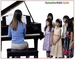 Samacheer Kalvi 11th English Guide Supplementary Chapter 5 The Singing Lesson 1
