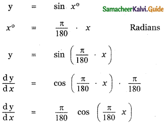 Samacheer Kalvi 11th Maths Guide Chapter 10 Differentiability and Methods of Differentiation Ex 10.2 12