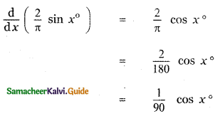 Samacheer Kalvi 11th Maths Guide Chapter 10 Differentiability and Methods of Differentiation Ex 10.5 2