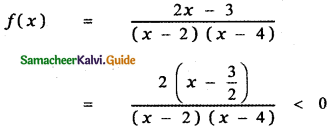 Samacheer Kalvi 11th Maths Guide Chapter 2 Basic Algebra Ex 2.8 4