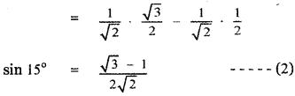 Samacheer Kalvi 11th Maths Guide Chapter 3 Trigonometry Ex 3.10 6