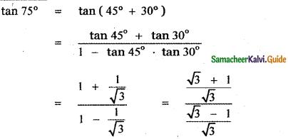 Samacheer Kalvi 11th Maths Guide Chapter 3 Trigonometry Ex 3.4 29