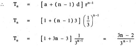 Samacheer Kalvi 11th Maths Guide Chapter 5 Binomial Theorem, Sequences and Series Ex 5.3 11