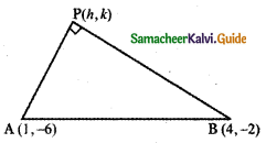 Samacheer Kalvi 11th Maths Guide Chapter 6 Two Dimensional Analytical Geometry Ex 6.1 9