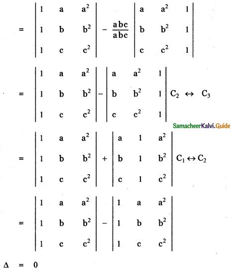 Samacheer Kalvi 11th Maths Guide Chapter 7 Matrices and Determinants Ex 7.2 23