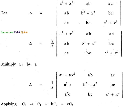 Samacheer Kalvi 11th Maths Guide Chapter 7 Matrices and Determinants Ex 7.2 27