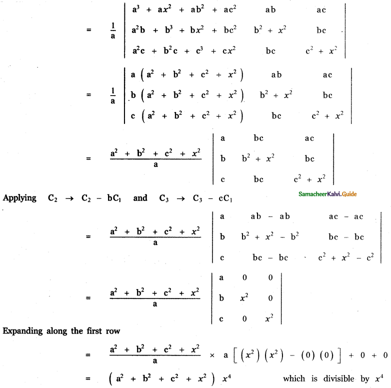Samacheer Kalvi 11th Maths Guide Chapter 7 Matrices and Determinants Ex 7.2 28