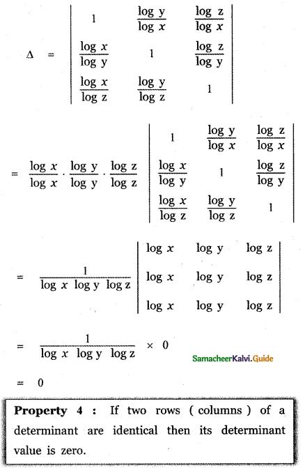Samacheer Kalvi 11th Maths Guide Chapter 7 Matrices and Determinants Ex 7.2 34