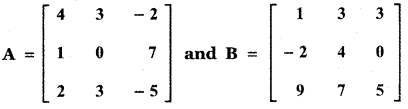 Samacheer Kalvi 11th Maths Guide Chapter 7 Matrices and Determinants Ex 7.2 47