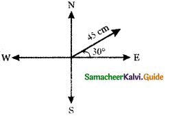 Samacheer Kalvi 11th Maths Guide Chapter 8 Vector Algebra - I Ex 8.1 1