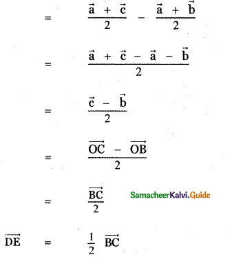 Samacheer Kalvi 11th Maths Guide Chapter 8 Vector Algebra - I Ex 8.1 10