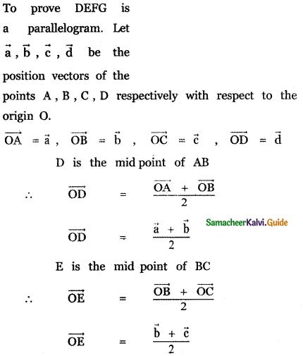 Samacheer Kalvi 11th Maths Guide Chapter 8 Vector Algebra - I Ex 8.1 12