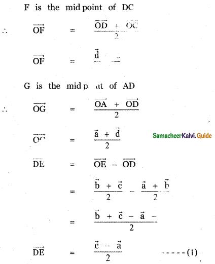 Samacheer Kalvi 11th Maths Guide Chapter 8 Vector Algebra - I Ex 8.1 13