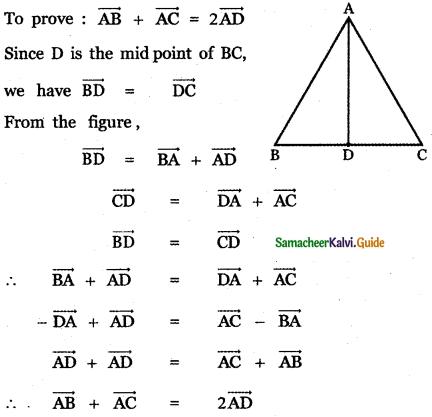 Samacheer Kalvi 11th Maths Guide Chapter 8 Vector Algebra - I Ex 8.1 21