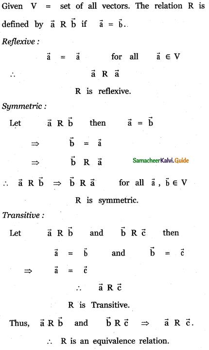Samacheer Kalvi 11th Maths Guide Chapter 8 Vector Algebra - I Ex 8.1 3