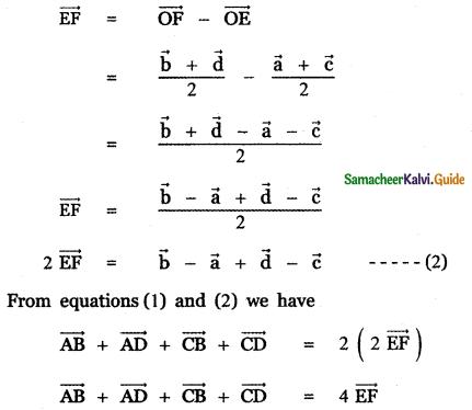 Samacheer Kalvi 11th Maths Guide Chapter 8 Vector Algebra - I Ex 8.1 31