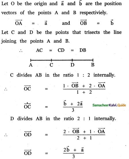 Samacheer Kalvi 11th Maths Guide Chapter 8 Vector Algebra - I Ex 8.1 4