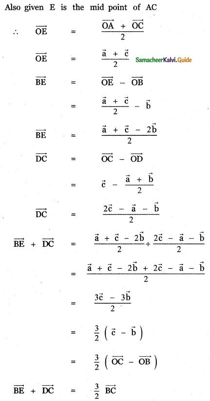 Samacheer Kalvi 11th Maths Guide Chapter 8 Vector Algebra - I Ex 8.1 7
