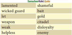 Samacheer Kalvi 12th English Guide Poem 1 The Castle 2
