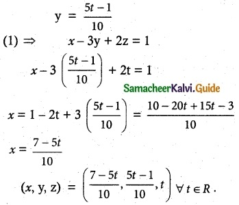 Samacheer Kalvi 12th Maths Guide Chapter 1 Applications of Matrices and Determinants Ex 1.6 3