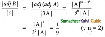 Samacheer Kalvi 12th Maths Guide Chapter 1 Applications of Matrices and Determinants Ex 1.8 1