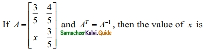Samacheer Kalvi 12th Maths Guide Chapter 1 Applications of Matrices and Determinants Ex 1.8 11