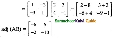 Samacheer Kalvi 12th Maths Guide Chapter 1 Applications of Matrices and Determinants Ex 1.8 19