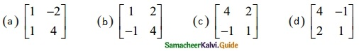 Samacheer Kalvi 12th Maths Guide Chapter 1 Applications of Matrices and Determinants Ex 1.8 2