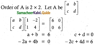 Samacheer Kalvi 12th Maths Guide Chapter 1 Applications of Matrices and Determinants Ex 1.8 3