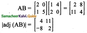 Samacheer Kalvi 12th Maths Guide Chapter 1 Applications of Matrices and Determinants Ex 1.8 5