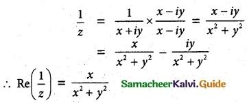 Samacheer Kalvi 12th Maths Guide Chapter 2 Complex Numbers Ex 2.4 3