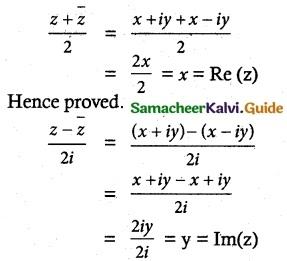 Samacheer Kalvi 12th Maths Guide Chapter 2 Complex Numbers Ex 2.4 7