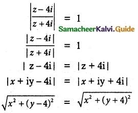 Samacheer Kalvi 12th Maths Guide Chapter 2 Complex Numbers Ex 2.6 1