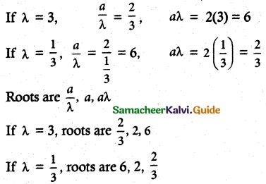 Samacheer Kalvi 12th Maths Guide Chapter 3 Theory of Equations Ex 3.3 4