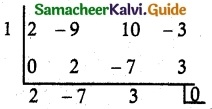 Samacheer Kalvi 12th Maths Guide Chapter 3 Theory of Equations Ex 3.3 7