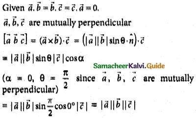 Samacheer Kalvi 12th Maths Guide Chapter 6 Applications of Vector Algebra Ex 6.10 1