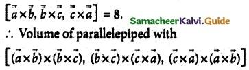 Samacheer Kalvi 12th Maths Guide Chapter 6 Applications of Vector Algebra Ex 6.10 8