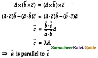 Samacheer Kalvi 12th Maths Guide Chapter 6 Applications of Vector Algebra Ex 6.10 9