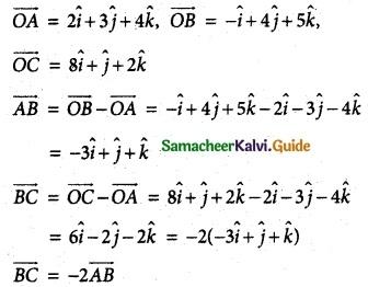Samacheer Kalvi 12th Maths Guide Chapter 6 Applications of Vector Algebra Ex 6.4 11