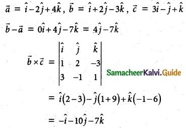 Samacheer Kalvi 12th Maths Guide Chapter 6 Applications of Vector Algebra Ex 6.7 4