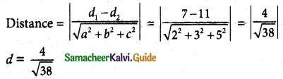 Samacheer Kalvi 12th Maths Guide Chapter 6 Applications of Vector Algebra Ex 6.9 3