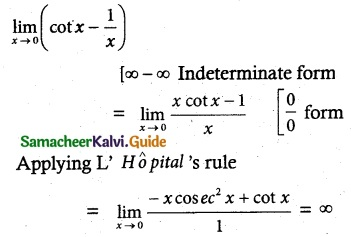 Samacheer Kalvi 12th Maths Guide Chapter 7 Applications of Differential Calculus Ex 7.10 5