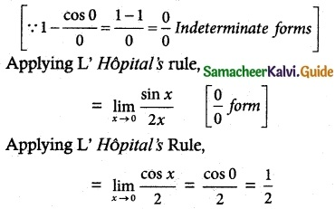 Samacheer Kalvi 12th Maths Guide Chapter 7 Applications of Differential Calculus Ex 7.5 1
