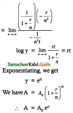 Samacheer Kalvi 12th Maths Guide Chapter 7 Applications of Differential Calculus Ex 7.5 10