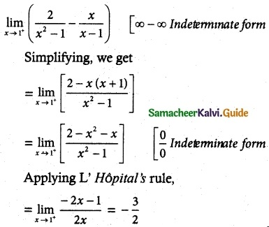 Samacheer Kalvi 12th Maths Guide Chapter 7 Applications of Differential Calculus Ex 7.5 4